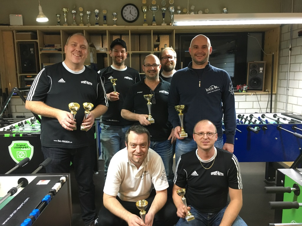 Sieger der Vereinsmeisterschaft 2016